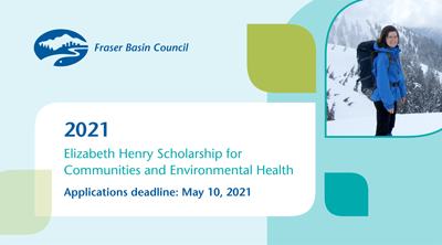 Apply for the 2021 scholarship now through May 10