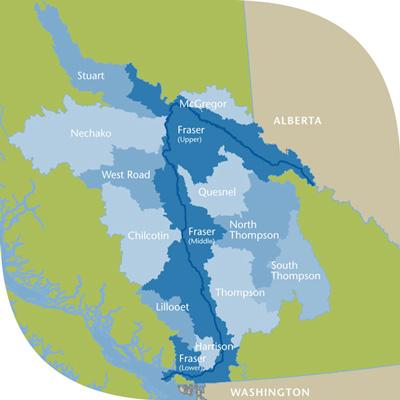 Fraser Basin Council Fraser Basin Watersheds