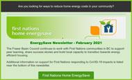 Read the February FNHES newsletter
