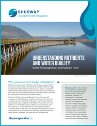 Understanding Nutrients and Water Quality in the Shuswap River and Salmon River