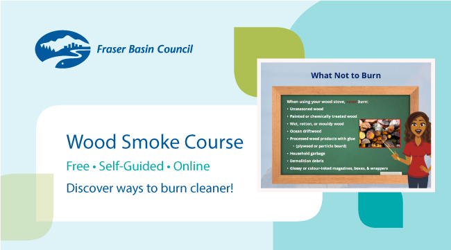 Try out the new, self-guided Wood Smoke Course!