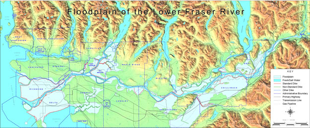 Fraser Basin Council - Flood and the Fraser on large map of saskatchewan, large map of sc, large map of nunavut, large map of mi, large map of ms, large map of nova scotia, large map of quebec, large map of ky, large map of nm,