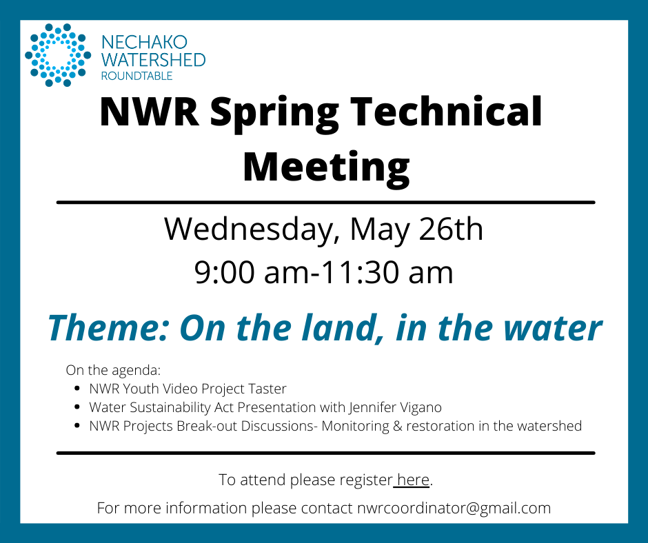 Our spring technical meeting is on May 26