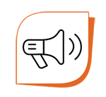 Megaphone by Milky - Digital innovation from the Noun Project